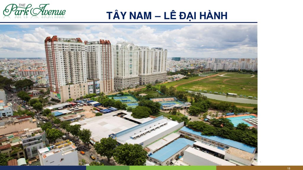 the park avenue view tây nam