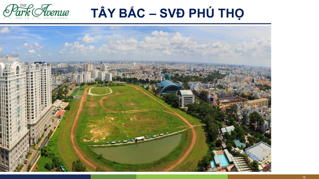 the park avenue view tây bắc